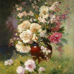 Handmade-Flower-Painting