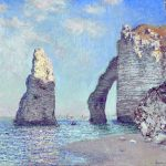 Monet The Rock Needle and the Porte d'Aval