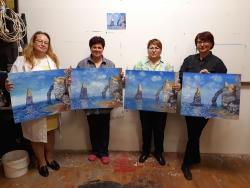 Monet Avalské skály a útesy - výsledky kurzu