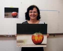 jablko podle fotografie - výsledek kurzu