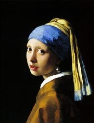 16. Johannes Vermeer - Dívka s perlou