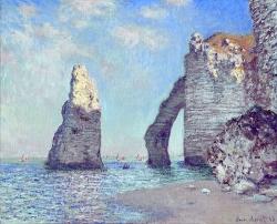 6. Monet - Avalské skály a útesy