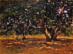 12. Monet Fontainebleau-forest