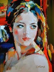 12. Josef Kote - portrét dívky