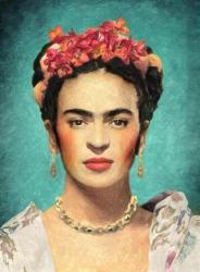 14. Portrét Fridy Kahlo