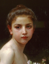 12. William Adolphe Bouguereau - portrét dívky