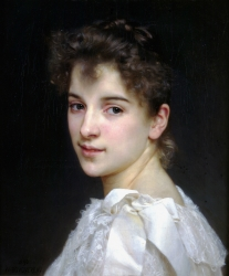 13. William Adolphe Bouguereau - portrét ženy